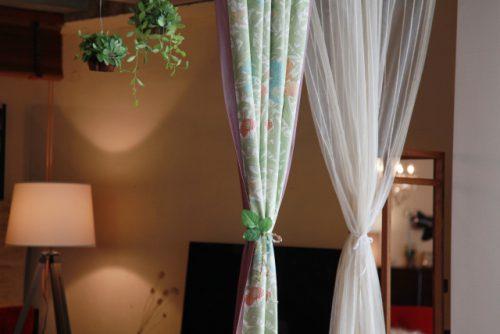 2種類のカーテン