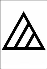 塩素系禁止のマーク