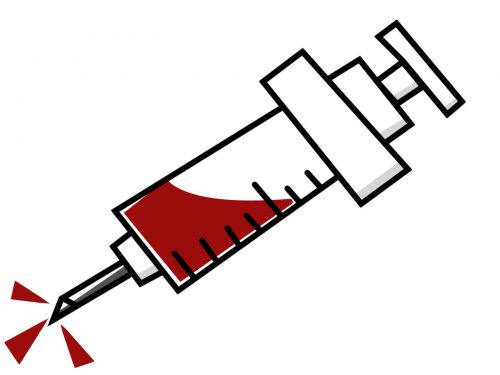 血液によるシミ