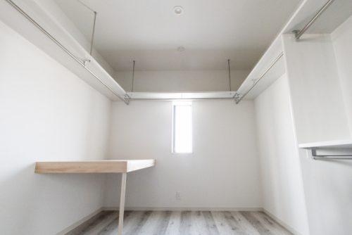 スッキリした収納スペース