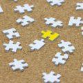 パズルのピースがバラバラ