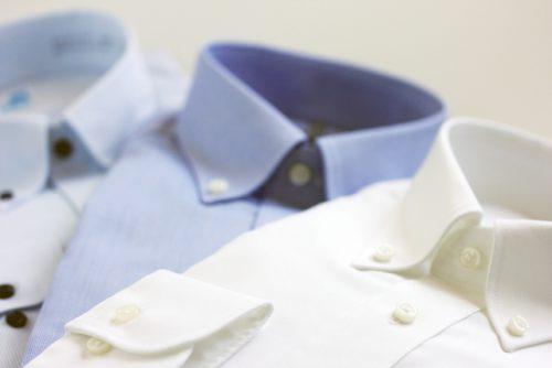 Yシャツのえりや袖口